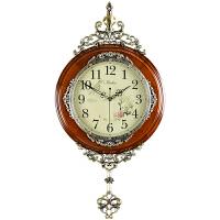 挂钟客厅钟表复古艺术挂表家用静音时钟创意时钟摆钟