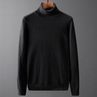 Lee Cooper新款秋冬高领毛衣韩版保暖打底衫套头针织衫长袖休闲男士毛衣