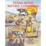 【预订】Texas Night Before Christmas Coloring Book