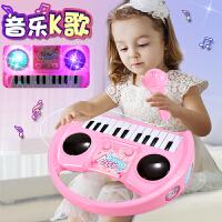 7女宝宝女童小孩钢琴礼物儿童电子琴早教玩具女孩3-4-5-6周岁