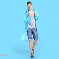 伞帽幼儿柔软头顶透明少女短款背包运动加长拉链时尚小可爱雨衣
