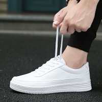 CUM 夏季潮鞋男鞋小白鞋男休闲鞋女内增高透气板鞋情侣运动鞋