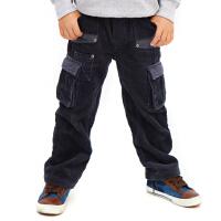 英格里奥童装男童装冬装新款长裤灯芯绒裤休闲裤