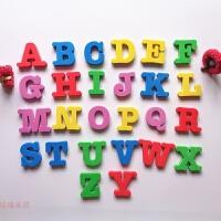 冰箱贴磁铁磁贴数字英文字母吸铁石幼儿园儿童早教创意磁力贴居家创意 大