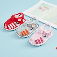 春夏季女宝宝学步凉鞋子网布幼儿男婴儿凉鞋
