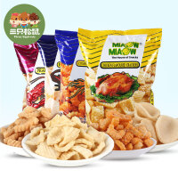 【三只松鼠_妙妙牌膨化】马来西亚进口零食小吃鱿鱼卷虾条虾片