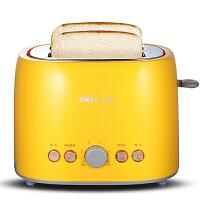 小熊(Bear)烤面包机 家用2片全自动多士炉 早餐机土吐司机 DSL-606