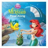 英文原版儿童书 Read-Along系列:The Little Mermaid 小美人鱼(书+CD) 有声读物