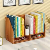 桌上书架学生用儿童办公书桌面置物架收纳宿舍小书柜简约现代