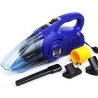 车载吸尘器 汽车充气泵 数显胎压两用四合一汽车用吸尘器