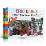 顺丰发货 英文原版 Have You Seen My Cat?你看到我的猫了吗 Eric Carle 卡爷爷儿童启蒙抽