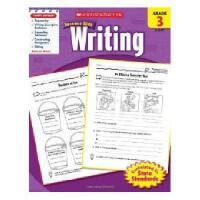 英文原版Scholastic Success With Writing, Grade 3学乐成功英语 3年级写作
