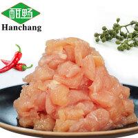 酣畅优享 藤椒味冷冻鸡肉丁200g*4包 生鲜食材鸡肉块