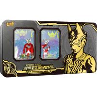 奥特曼卡片CP包HR卡SSR金卡满星卡 收藏册卡册全套儿童怪兽卡牌3b