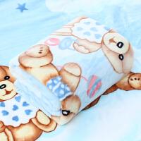 婴儿毛毯 双层加厚冬季用新生儿童毛毯小孩毯子云毯宝宝盖毯四季