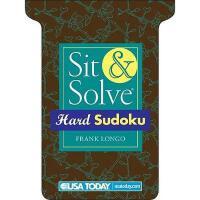 【预订】USA Today Hard Sudoku