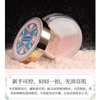 粉底控油持久遮瑕防水提亮自然修容散粉