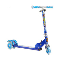 儿童三轮滑板车闪光减震折叠踏板车 小孩滑车儿童滑板车