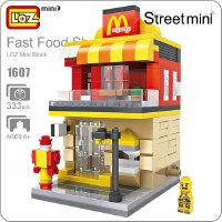LOZ/俐智小颗粒积木迷你街景益智拼插儿童玩具拼装模型玩具