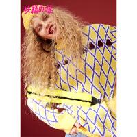 【3折价:144】【叠券满399减50】妖精的口袋Y冬装新款ins超火的毛衣宽松韩版长款套头上衣女
