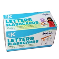 英文原版 Pre-K Letters Flashcards 幼儿园启蒙学习字母单词卡片 幼儿童英语启蒙阅读教材绘本