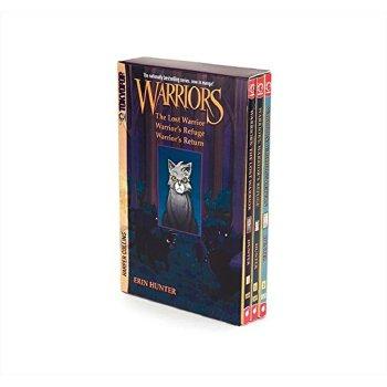 【中商原版】猫武士漫画套装:灰条历险记(3本)英文原版 Warriors Manga Box Set: Graystripe's Adventure 漫画