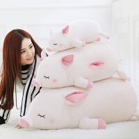维莱 猪公仔毛绒玩具女生猪猪抱枕玩偶大布娃娃暖手捂送女友情人节礼物