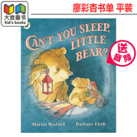英文原版绘本 英国进口 小熊你睡不着吗 Can't You Sleep,Little Bear 跨越时空的永恒经典 廖