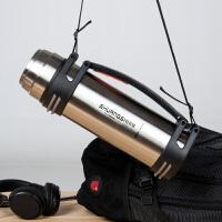 韩版大容量不锈钢保温杯户外运动健身水杯便携车载旅游水壶家用旅行热水瓶900ml