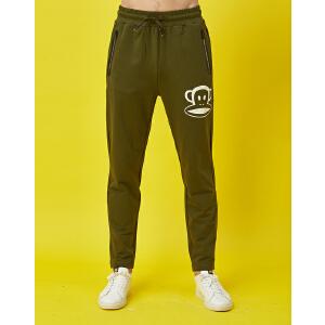 【限时秒杀到手价:89元】paul?frank/大嘴猴春季款休闲裤舒适跑步健身裤男式运动长裤