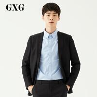 GXG西装男装 男士韩版商务绅士青年休闲黑色休闲单西外套
