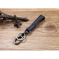 手工真皮钥匙扣汽车钥匙挂件男腰挂牛皮钥匙链金属钥匙圈