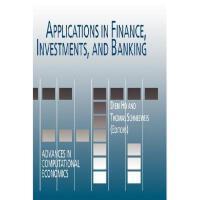 【预订】Applications in Finance, Investments, and Banking