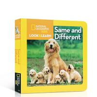 英文原版 National Geographic Kids儿童国家地理系列Look and Learn Same an