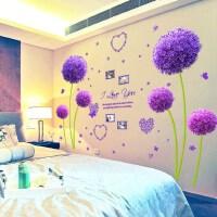 墙贴纸墙纸自粘墙上贴画温馨浪漫卧室房间床头贴