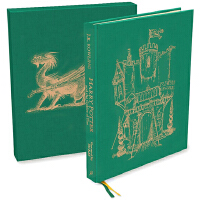 预售 哈利波特与火焰杯 金边豪华精装版 Harry Potter and the Goblet of Fire 英文原版