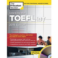 Cracking the TOEFL iBT with Audio CD, 2018 Edition 破解托福iBT考