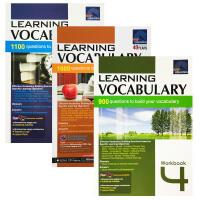 【全店300减100】英文原版SAP Learning Vocabulary Workbook 4-6年级练习册新亚英语