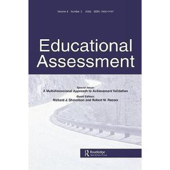 【预订】Educational Assessment, Volume 8: A Multidimensional 美国库房发货,通常付款后3-5周到货!