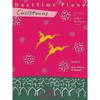 【预订】DuetTime Piano, Level 1, Christmas