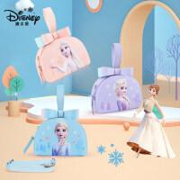 迪士尼拎包冰雪奇缘2儿童包包时尚女童可爱小女孩小包斜挎包