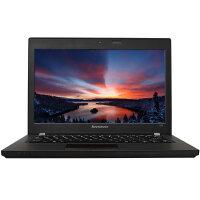 联想(Lenovo)昭阳K20-80 12.5英寸商务办公笔记本电脑  i5-5300U 4G内存 500G硬盘 集显 无光驱 Win7黑色官方标配