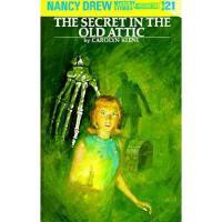 【预订】Nancy Drew 21: The Secret in the Old Attic