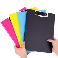文件夹板A4板夹书写字垫板大学生用多层文具会议票据办公用品