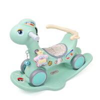 儿童摇摇马滑行车两用一周岁礼物玩具宝宝摇摇车小马
