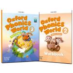 新版牛津自然拼读 Oxford Phonics World 2级课本+练习册 含APP 牛津英语拼读世界OPW2 含A