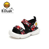 【3折价:98.7】B.Duck小黄鸭童鞋男童2020夏季新款凉鞋透气儿童鞋软底防滑耐磨潮B2185023