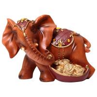泰国大象摆件欧式客厅酒柜装饰品简约现代家居摆设