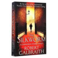The Silkworm 蚕 【英文原版 精装 J.K.罗琳侦探小说、 J.K. Rowling继《布谷鸟的呼唤》后作品】
