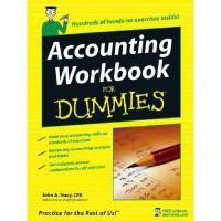 【预订】Accounting Workbook For Dummies